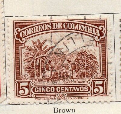 Colombia 1932 Early Issue Fine Used 5c. 113085