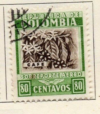 Colombia 1932 Early Issue Fine Used 80c. 113090