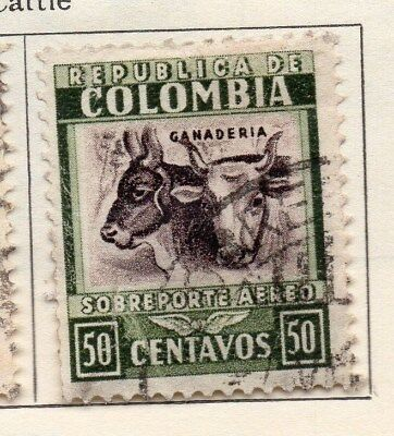 Colombia 1932 Early Issue Fine Used 50c. 113092
