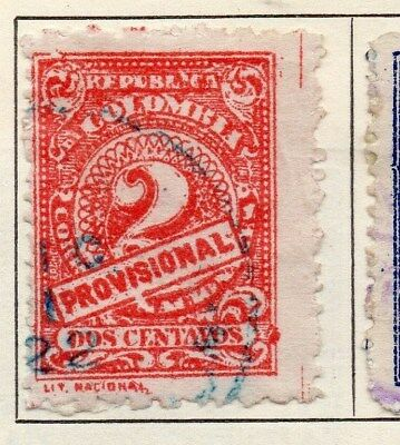 Colombia 1921 Early Issue Fine Used 2c. 113108