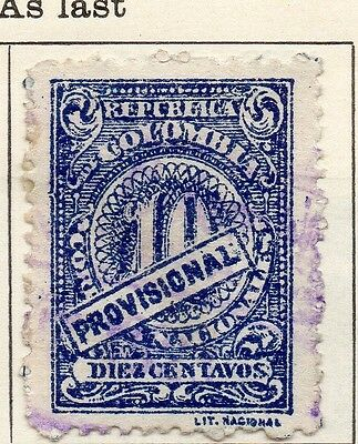 Colombia 1921 Early Issue Fine Used 10c. 113109