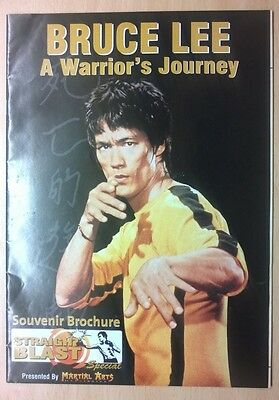 Souvenir Bruce Lee rare publication presented by Martial Arts Illustrated