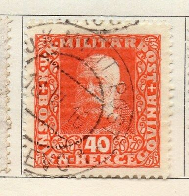 Bosnia Herzegovina 1916-17 Early Issue Fine Used 40h. 113387
