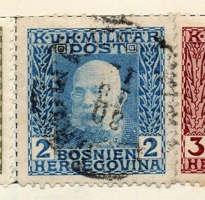 Bosnia Herzegovina 1912 Early Issue Fine Used 2h. 113391