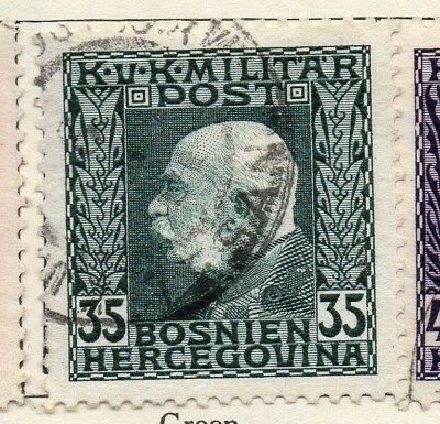 Bosnia Herzegovina 1912 Early Issue Fine Used 35h. 113400