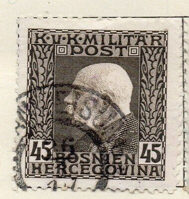 Bosnia Herzegovina 1912 Early Issue Fine Used 45h. 113402