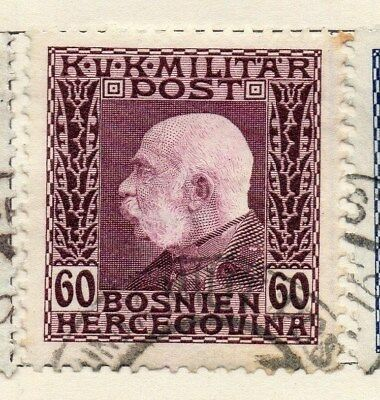 Bosnia Herzegovina 1912 Early Issue Fine Used 60h. 113404