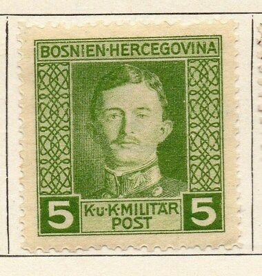 Bosnia Herzegovina 1917 Early Issue Fine Mint Hinged 5h. 113412