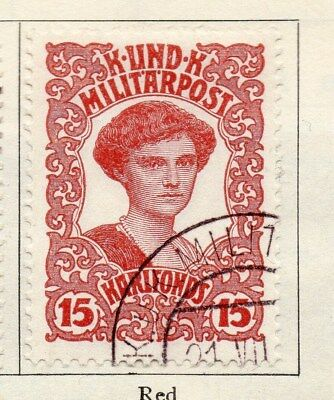 Bosnia Herzegovina 1918 Early Issue Fine Used 15h. 113430