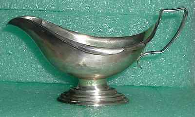 1917 WHITING MANUFACTURING Co STERLING SAUCE BOAT PITCHER *Newport or St Martin