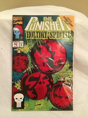 PUNISHER HOLIDAY SPECIAL # 1 Marvel Comics