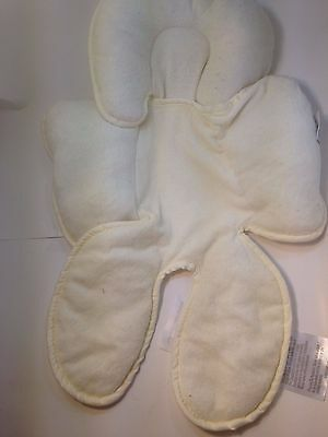 Infant Baby Head Hugger by Summer Support Cushion for Car Seat Beige