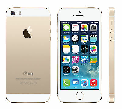 Unloack Apple iPhone 5S 16GB 32GB 64GB Smartphone Excellent Grade A+++ condition