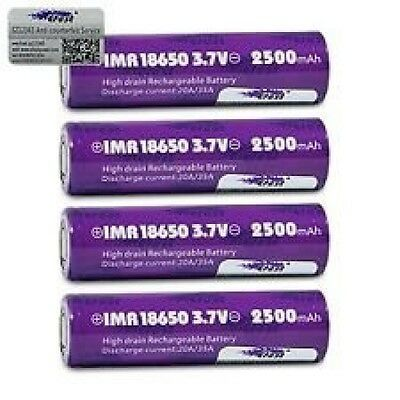 Efest IMR 18650 35 A 2500 mAh, 3,7 V, batteria ricaricabile, colore: (Y4t)