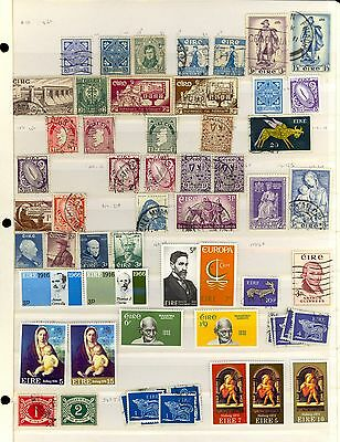 50 Ireland Stamps Mint MNH Used Some Different Good Old Lot R4