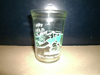 Welch's Jelly Glass 1991 Tom & Jerry Playing Football Lot #3