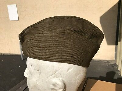 US AEF Officer Overseas Cap in Whipcord Size 7 1/8 (57)