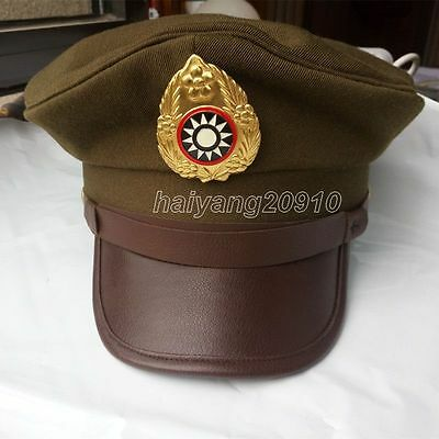Chinese Army KMT WWII WW2 Large Brimmed Hats Land Force Militaire Reproductions