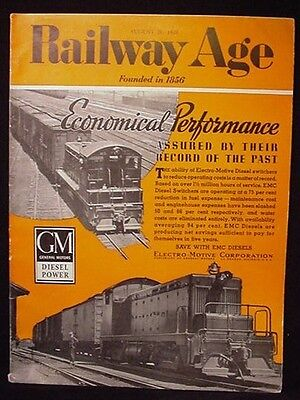 Railway Age 1939 August 26 Southern Buys Express Cars