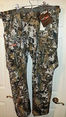Sitka Gear Equinox Pant Elevated II Size 44 $189