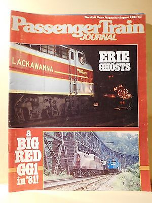 Passenger Train Journal #53 1981 August PTJ Erie Ghosts GG1 Tuscan red