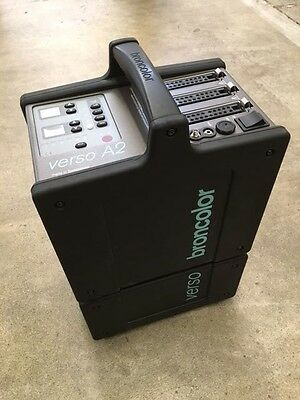 Broncolor Verso A2 Power Pack And Power Dock