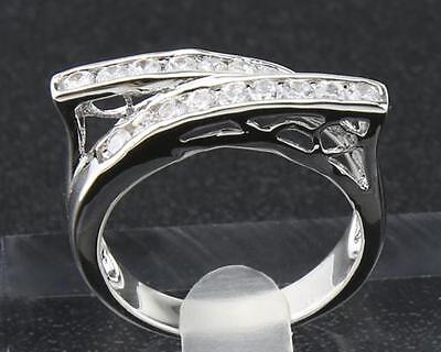 Antique Natural  Diamond  RingS 1.68ct In 14kt Solid White Gold Size7