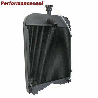 8N8005 Aluminum Ford Tractor Radiator 2N 8N 9N with Cap AU SHIP