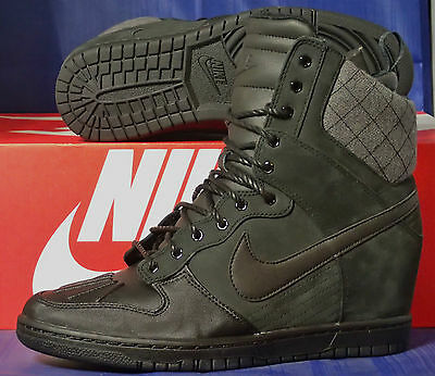 Womens Nike Dunk Sky Hi Sneakerboot 2.0 Black SZ 8.5 ( 684954-002 )