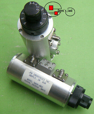1×USED JFW 50DR-062 9.8dB / 2GHz SMA Step Variable Attenuator