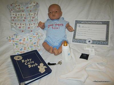 =NICE RealCare Baby Think It Over Doll G6 Gen 6 White Caucasian Boy Male Extras=