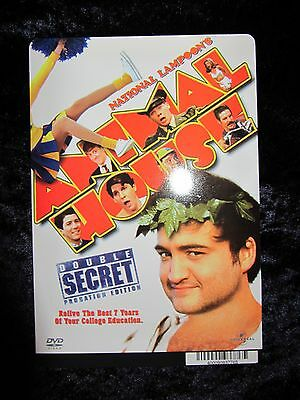 National Lampoon's Animal House backer card John Belushi (this is not a movie)
