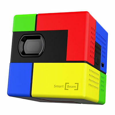 SK UO Smart Beam Art Protable Mini Pico Laser Projector DLP LED Smartphone