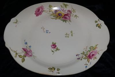 Vtg Candlelight Limoges FLORAL PLATTER Canterbury LC Made in USA China American