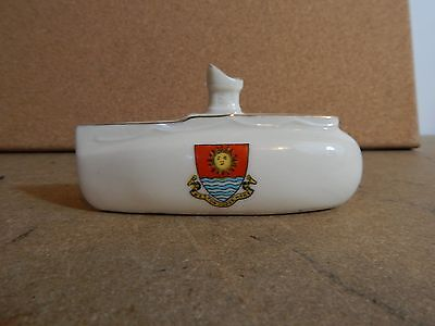 WW1 Milton China Submarine Weston super mare crest