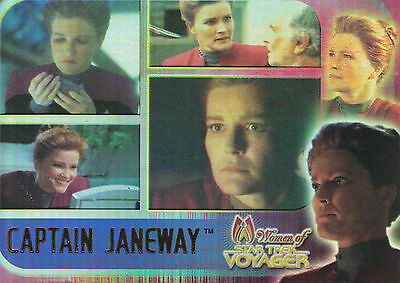 Star Trek Voyager Women 2001  Trading Card Set (70 Cards)