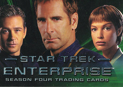 Star Trek: Enterprise Season 4  Trading Card Set (71 Cards)