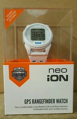 Bushnell 2016 Neo Ion GPS Watch - White/Blue