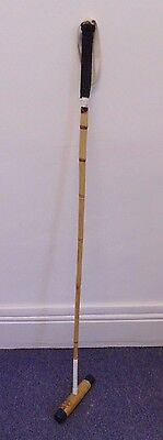 "53"" Professional Polo Mallet Stick Root Cane Horse Sports Equipment"