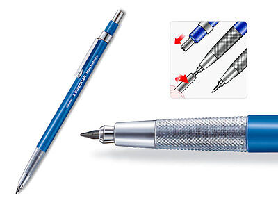 Staedtller Mars 780C, 2mm Lead holder Clutch Pencil, HB Lead, made in Germany