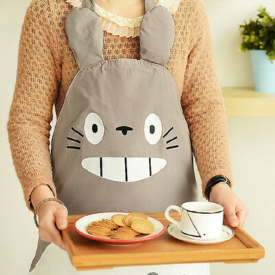 My Neighbor Totoro Aprons Cartoon Wear Vest Costume Novelty Funny for Kitchen