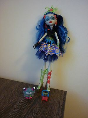 monster high doll sweet screams ghoulia yelps rare