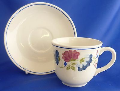 A Bhs 'priory' Tea Cup And Saucer
