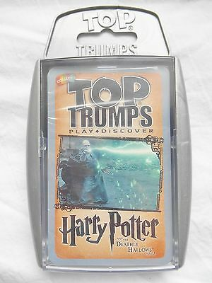 Top Trumps Harry Potter & The Deathly Hallows Part 2 Card Game 2016 Brand New