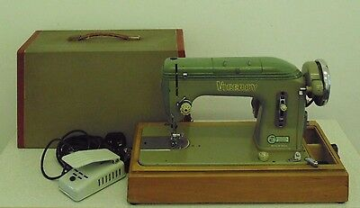 Vintage Viceroy Heavy Duty Electric Sewing Machine Sails Denim Leather Cloth