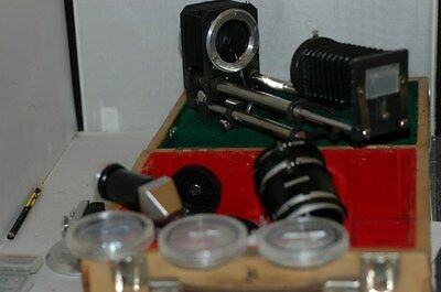 Bellow Unit /tubes/close-Up Filters/r.a.finder. Minolta Bayonet Fitting.