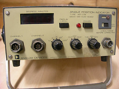 Vintage Analog Devices Angle Position Indicator  (009)