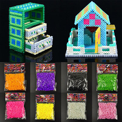 DIY 5mm 500Pcs HAMA/PERLER BEADS For Children Clever Gifts Toys Kids Great Fun