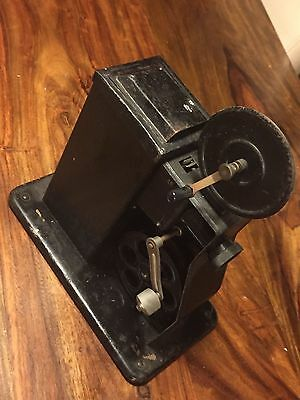 Early 1900's Vintage 8mm Hand Cranked Cine Film Projector, Retro antique,