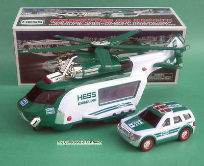 2012 Hess Toy Helicopter with rescue truck Brand New in Box